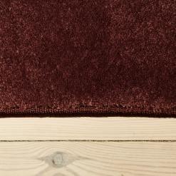 heather farvet tæppe fra WeRug med kant