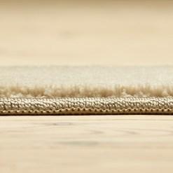 lysegråt tæppe med kant fra WeRug