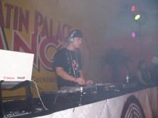 Mr. E DJ for Franco el Gorilla, concert / Frankfurr