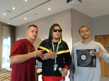 with French Montana DJ Blackzillah