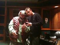 With William Cooper from Black Market Militia : Chung King Studios NY