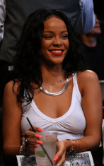 Rihanna breast