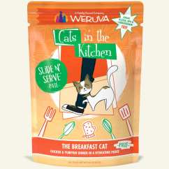 Cats In The Kitchen Replacing Countertops Pate Pouches Weruva Because We Luvya Breakfast Cat