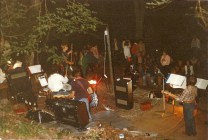 1st gig, 1st band