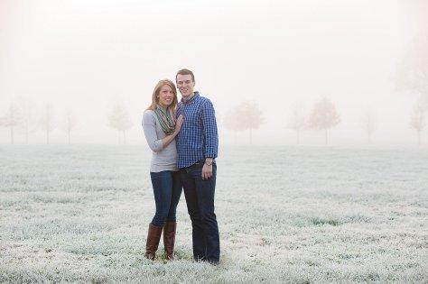 Scott+Sarah - Engagement Session at Keeneland in Lexington, KY