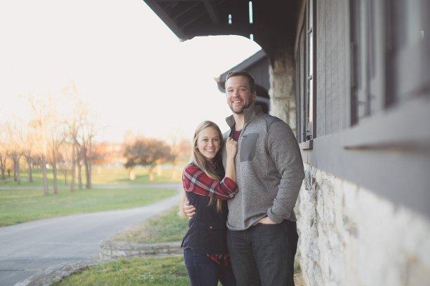 Emily+Corey - Engagement Session Keeneland in Lexington, KY