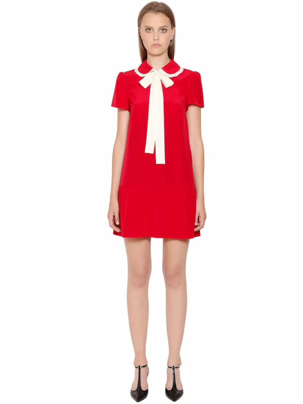 Red Dress With Bow Dresses For Woman