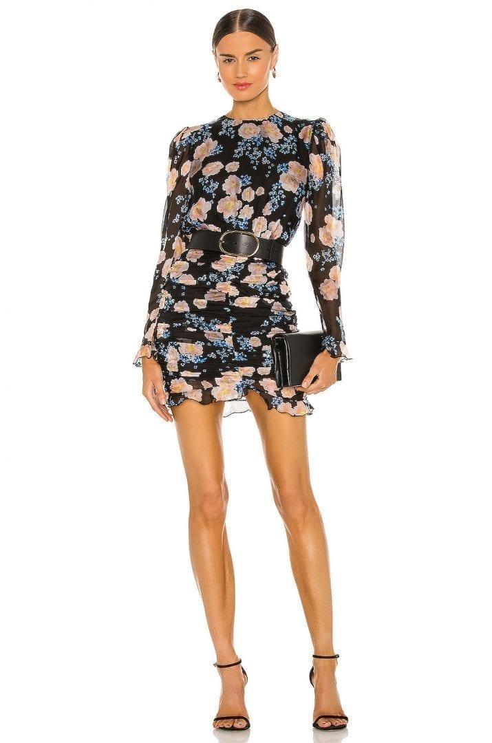 JOHNNY WAS Priyanka Printed Silk Wrap Maxi Dress - We Select Dresses