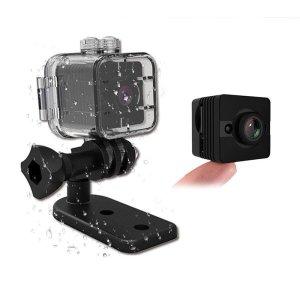 SQ12 WIDE ANGLE WATERPROOF MINI CAMERA 1080P HD