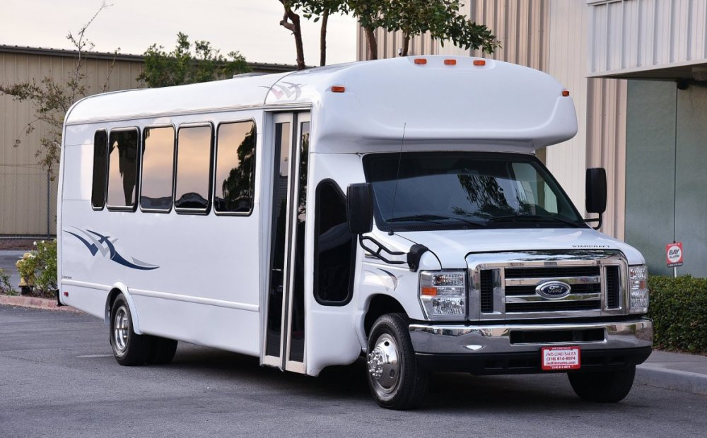 medium resolution of limo bus for sale 2014 ford e 450 by starcraft