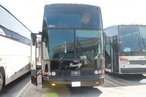 small resolution of limo bus for sale 1998 van hool t2145 45 quot
