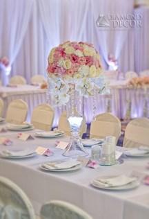 ślub w Hotelu Faltom - dekoracja sali balowej