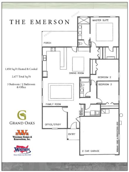 Emerson Floor Plan