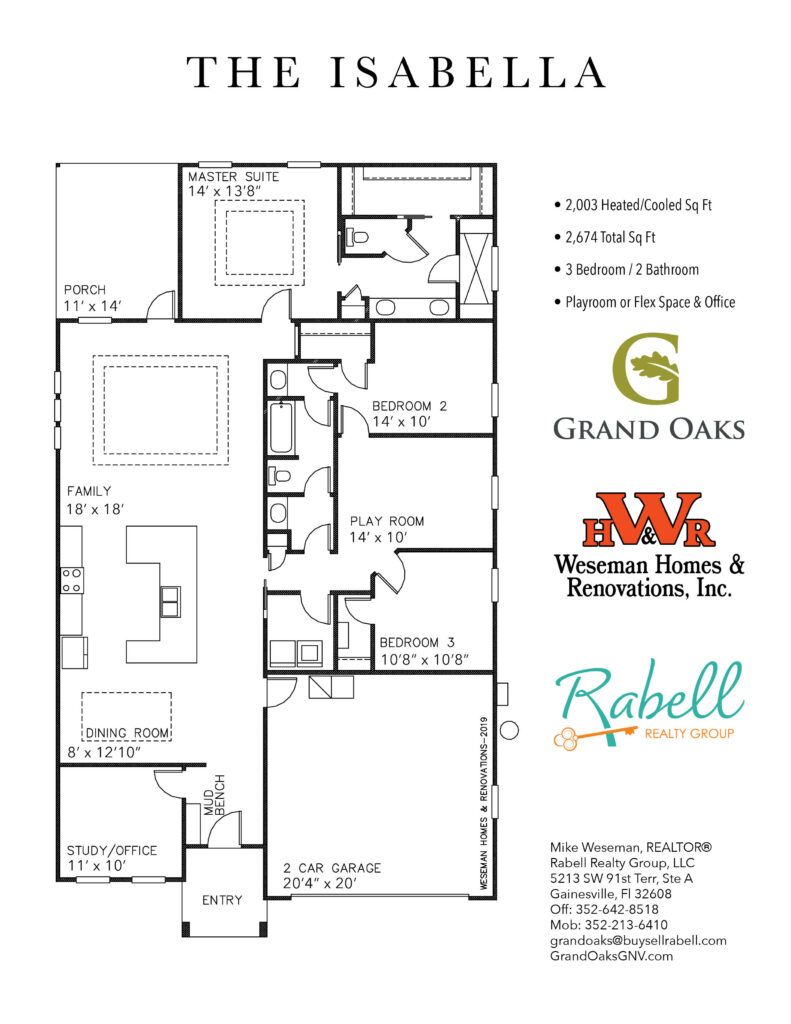 Grand Oaks Floor Plans - Isabella