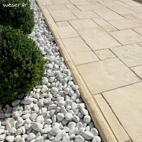 bordure de jardin richelieu pierre reconstituee weser sas