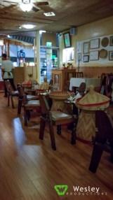 Inside Messob Ethiopian Restaurant
