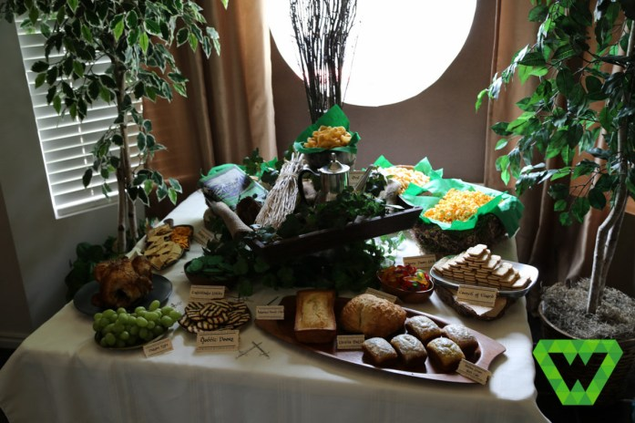 The Food table.