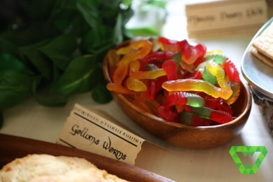 Gollum's Worms (gummy worms). These were a favorite.