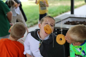 donut eating contest