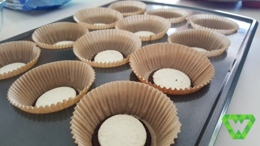 Oreo Cupcakes..yum. With cookies and cream icing.