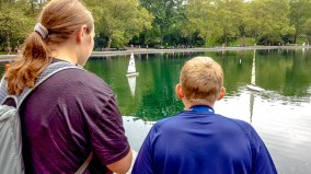 Renting RC Boats in NY Central Park