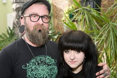 Blake and Mayan, his daughter.