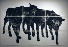 Untitled (Four Wolves)