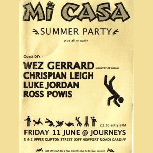 DJ Set 04 Live @ Mi Casa, Journeys, Cardiff, 11.06.04