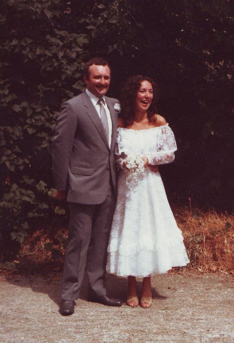 Debbie and Terry West