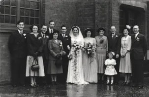 Doris and Stan Whitefield, 17th March 1951