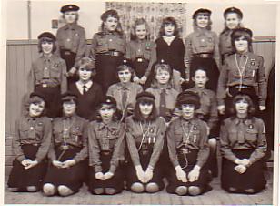 Avril as Lietenant with 6th Plumstead Common Guides (after returning to Plumstead after college)