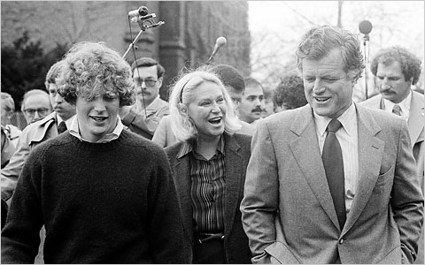 Ted Kennedy at Wesleyan