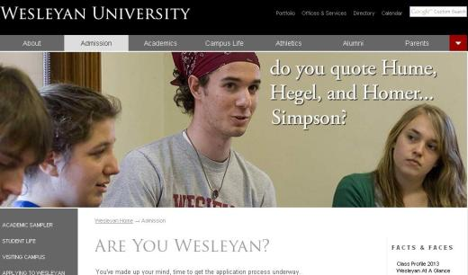 wesleyan new homepage2