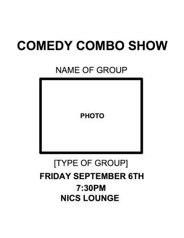 Combo Show Poster Template