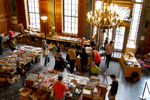 booksale from connection 2009