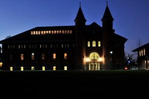 2011 Wesleyan Campus at night