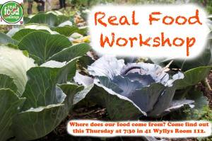 real food workshop