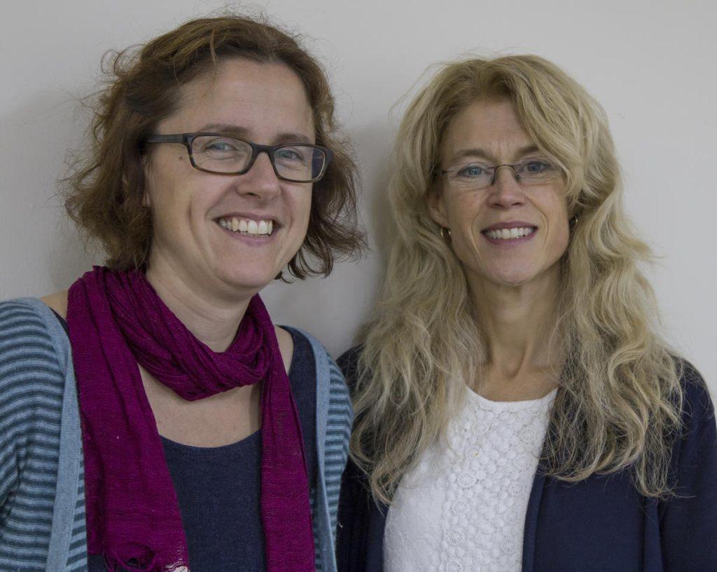 Nicki Arkell and Caroline Searle of Seedlings