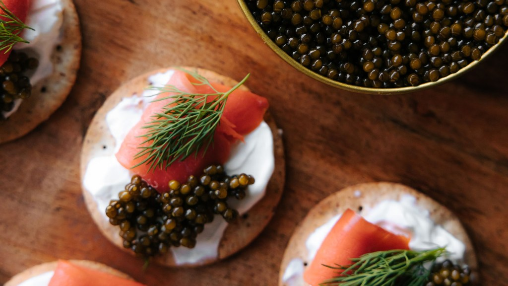 what Champagne goes with caviar