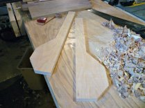 Cherry sides rough cut to size