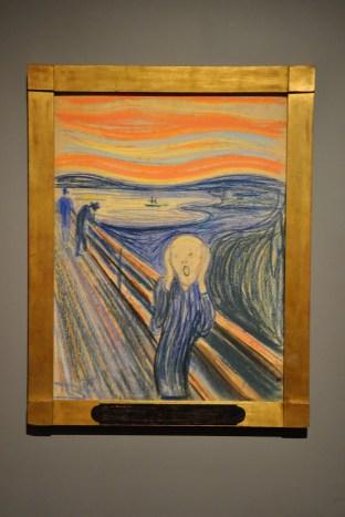 Krzyk, E.Munch, MoMA, Nowy Jork
