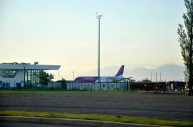 Wizzair na lotnisku w Kutaisi
