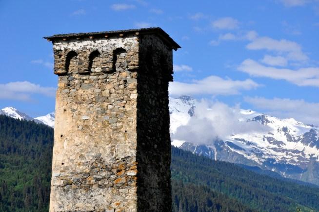 wieże Swanetii