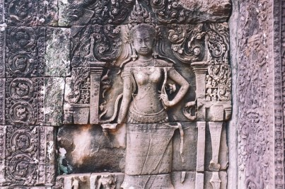 zdobienia Angkoru - Dewata