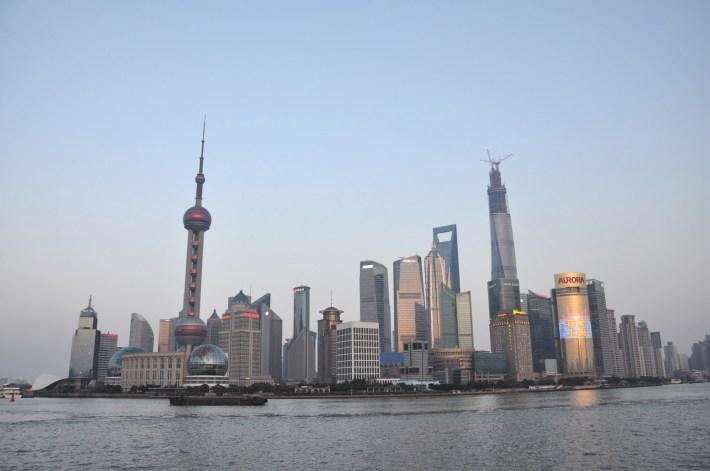Szanghaj Pudong w 2014 roku