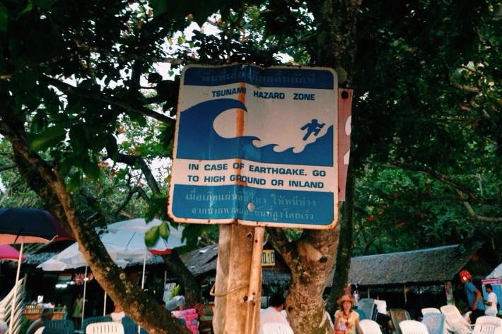 w razie tsunami