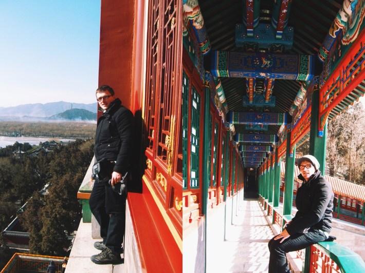 Na szczycie Pałacu Letniego oraz w jego korytarzach