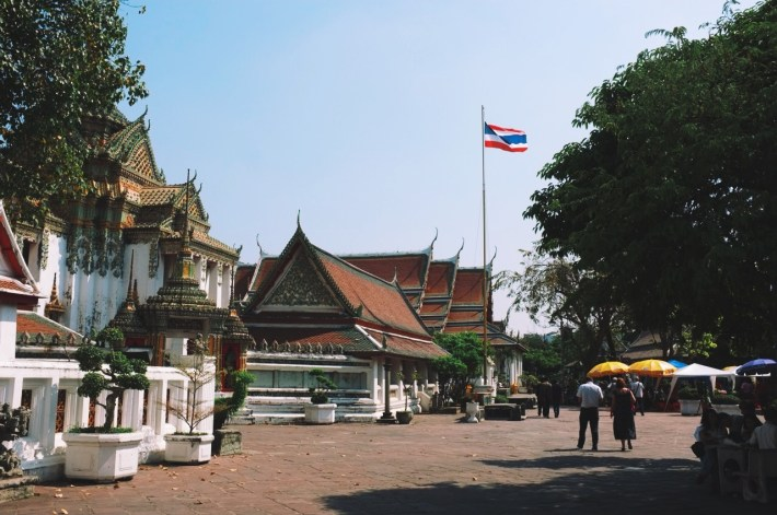 w kompleksie świątynnym Wat Bo