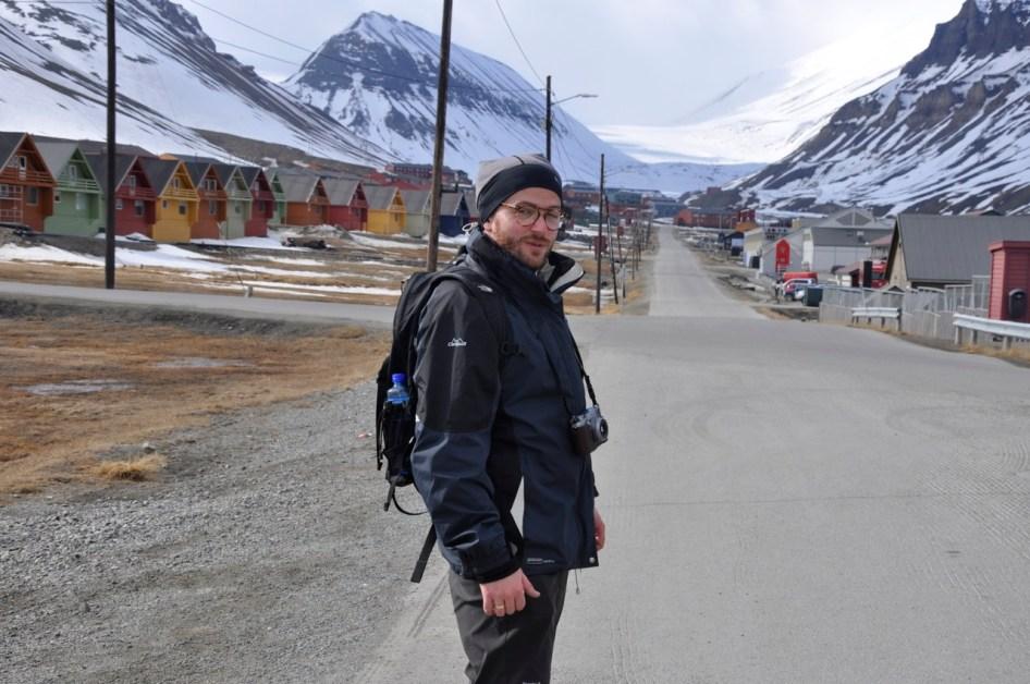 na ulicach Longyearbyen
