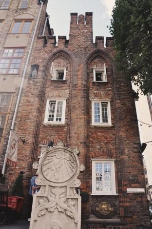 Gotyk House - najstarsza kamienica w Gdańsku, obecnie kameralny hotel